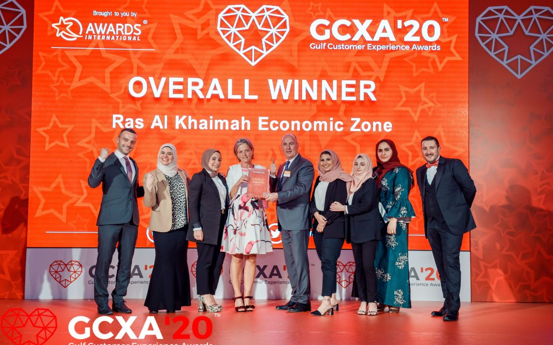 Gulf Customer Experience Awards 2020 overall winner, RAKEZ's CX Transformation Journey